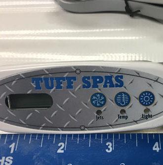 Tuff Spas 1400 top-side controller Balboa