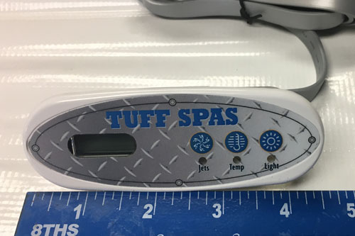 Tuff Spas 1400 top-side controller Balboa
