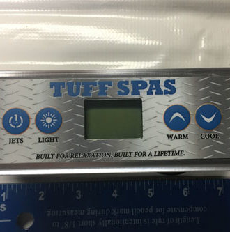 Tuff Spas 1420 top-side controller Gecko