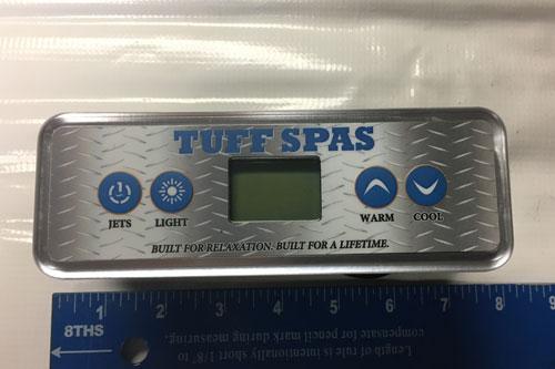 Tuff Spas 1420 top-side controller Gecko