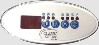 LA Spas Classic control overlay