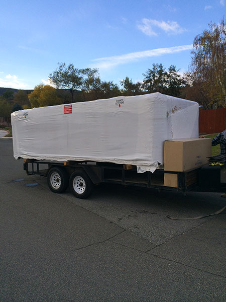 Custom Spas Direct spa delivery and installation