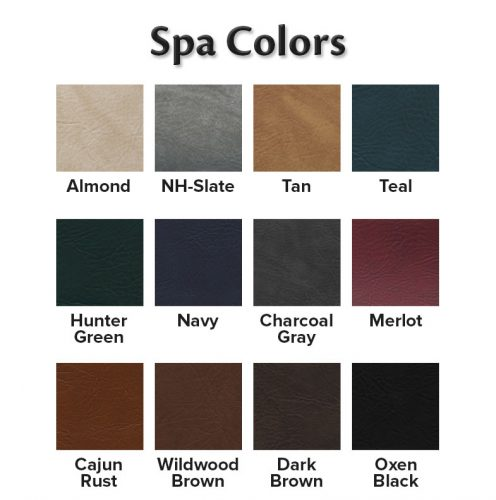 Spa Color swatch graphic